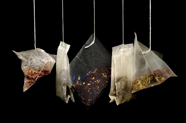 Porta tè e accessori per la preparazione del tè